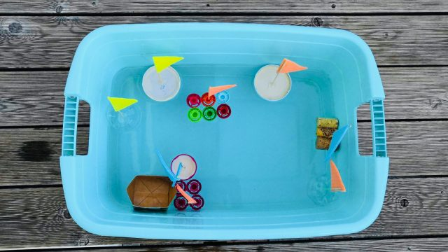 Wasserspaß – Upcycling Boote aus Müll