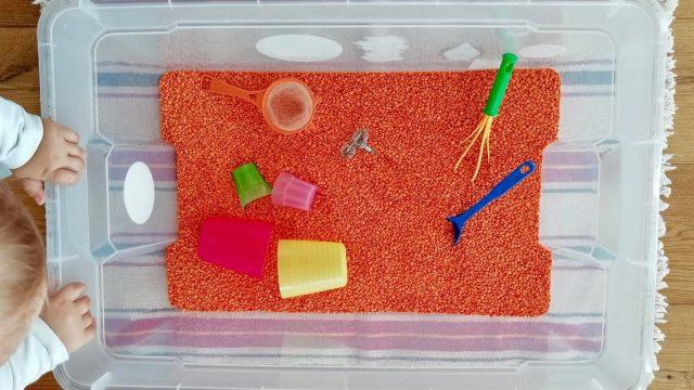 Linsenwanne – für Krabbelkinder bis Schulkinder