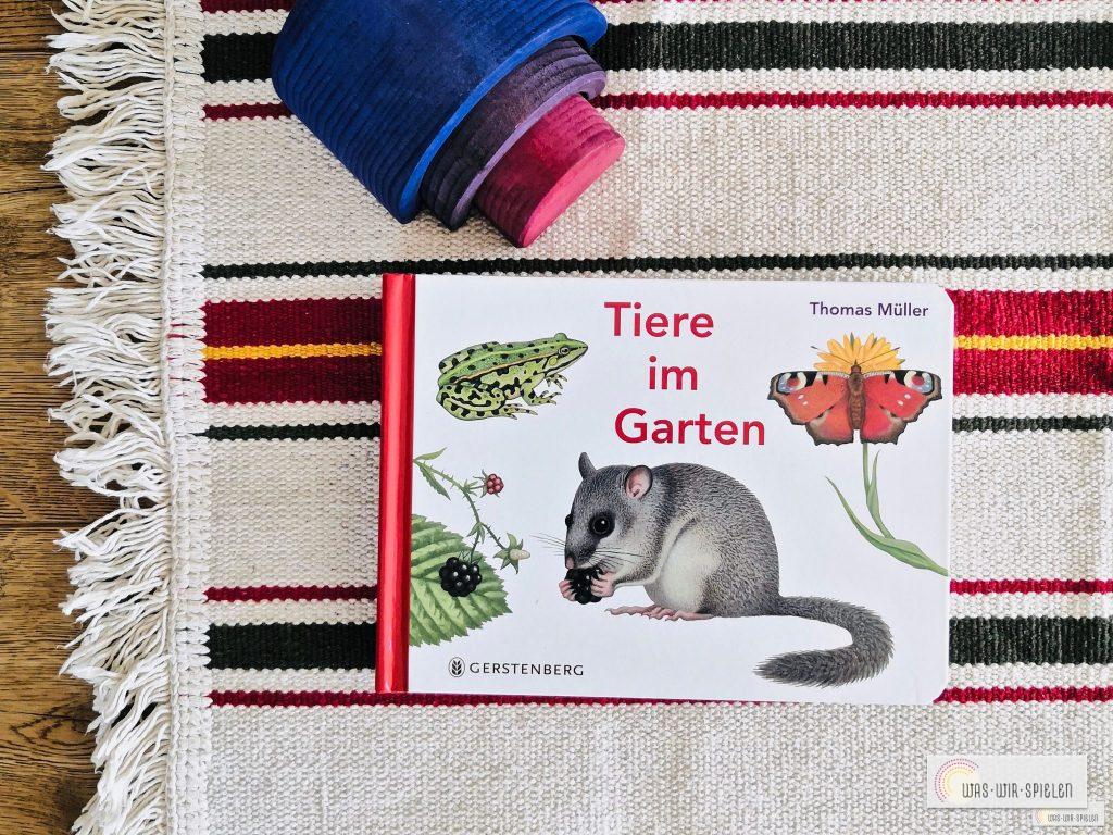 """Cover """"Tiere im Garten"""""""
