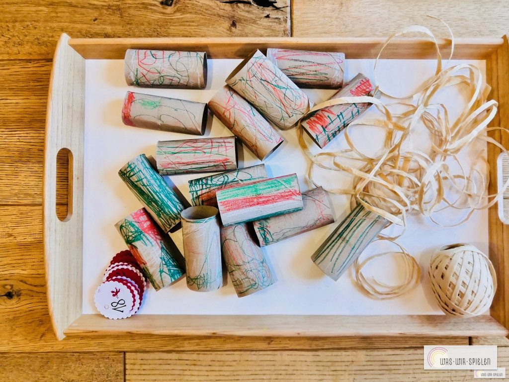Geschenke schnüren mit Papierschnur