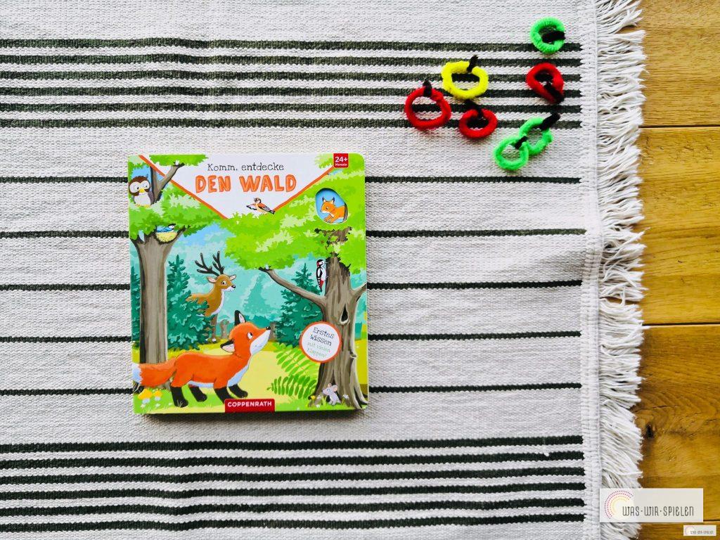 Komm, entdecke den Wald - ein spannendes Sachbuch für Kinder von 2 bis 4 Jahren