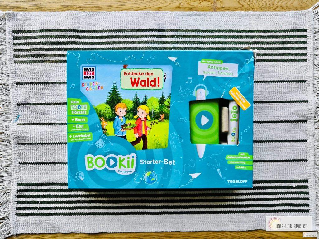Das Bookii Starterset mit Hörstift und Buch, ideal für wissbegierige Kinder