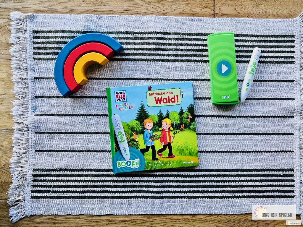 Entdecke den Wald - ein Sachbuch für Kinder welches mit dem Bookii Lernstift verwendet werden kann