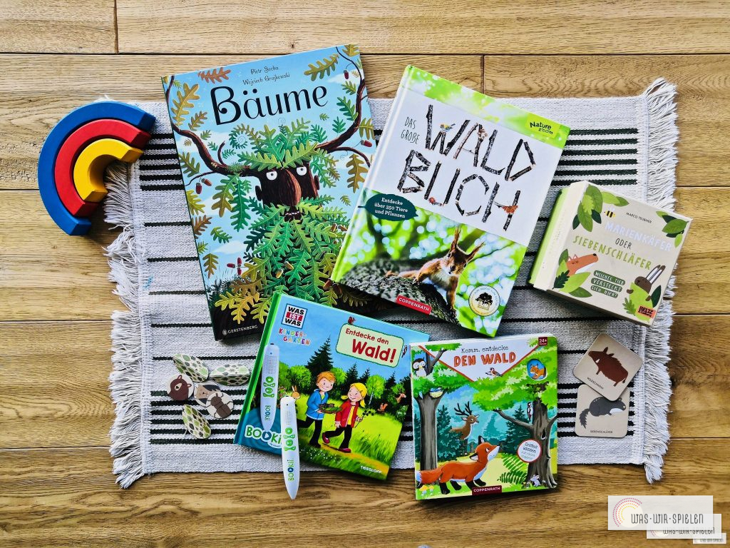 Die schönsten Sachbücher für Kinder zum Thema Wald im Überblick