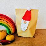 Nachhaltiges Nikolaus .Säckchen selber basteln mit Kleinkindern und Kindern