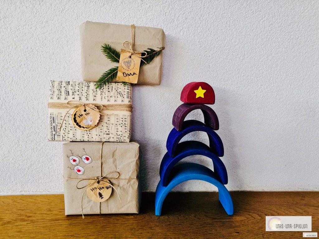Beispiele für Tetrapack Geschenkanhänger