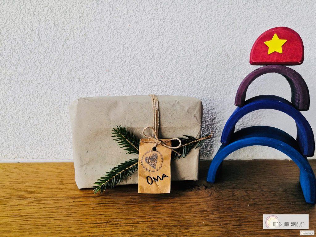 weihnachtlicher Geschenkanhänger