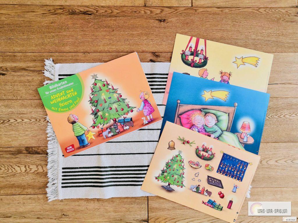 wunderschöne Bildkarten für den Advent