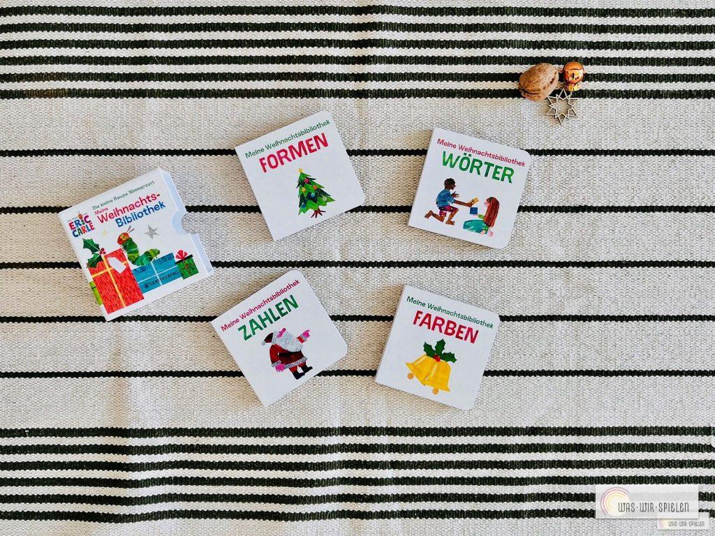 Meine Weihnachtsbibliothek - ein empfehlenswertes Buchset für Kleinkinder rund um Weihnachten