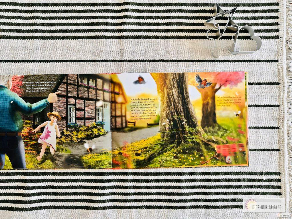 """Blick ins Kinderbuch """"Der Keksbaum"""""""