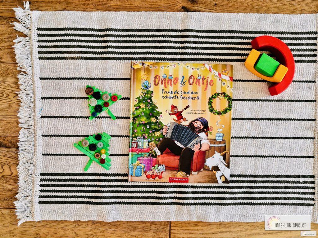 Onno & Ontje, ein weihnachtliches Buch für Kinder lustig erzählt