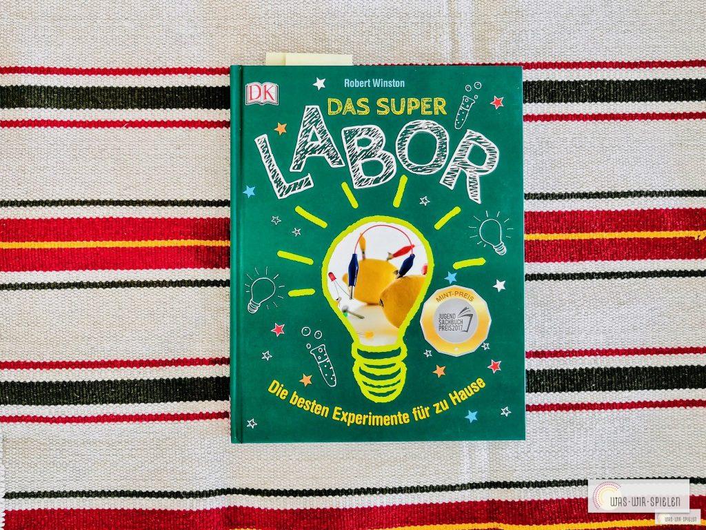 Das Superlabor - ein tolles Buch aus dem DK Verlag
