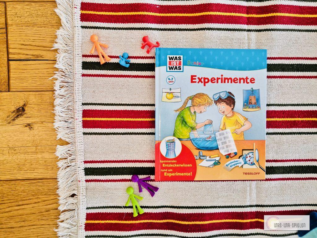 Ein tolles Buch rund um das Thema Experimentieren