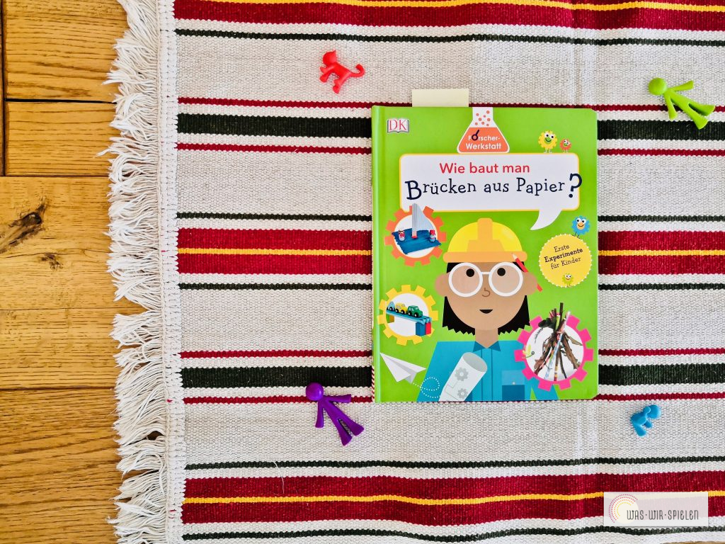 """""""Wie baut man Brücken aus Papier?"""" ist ein tolles Forscherbuch für Kinder"""