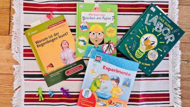 4 spannende Buchempfehlungen für kleine Forscher