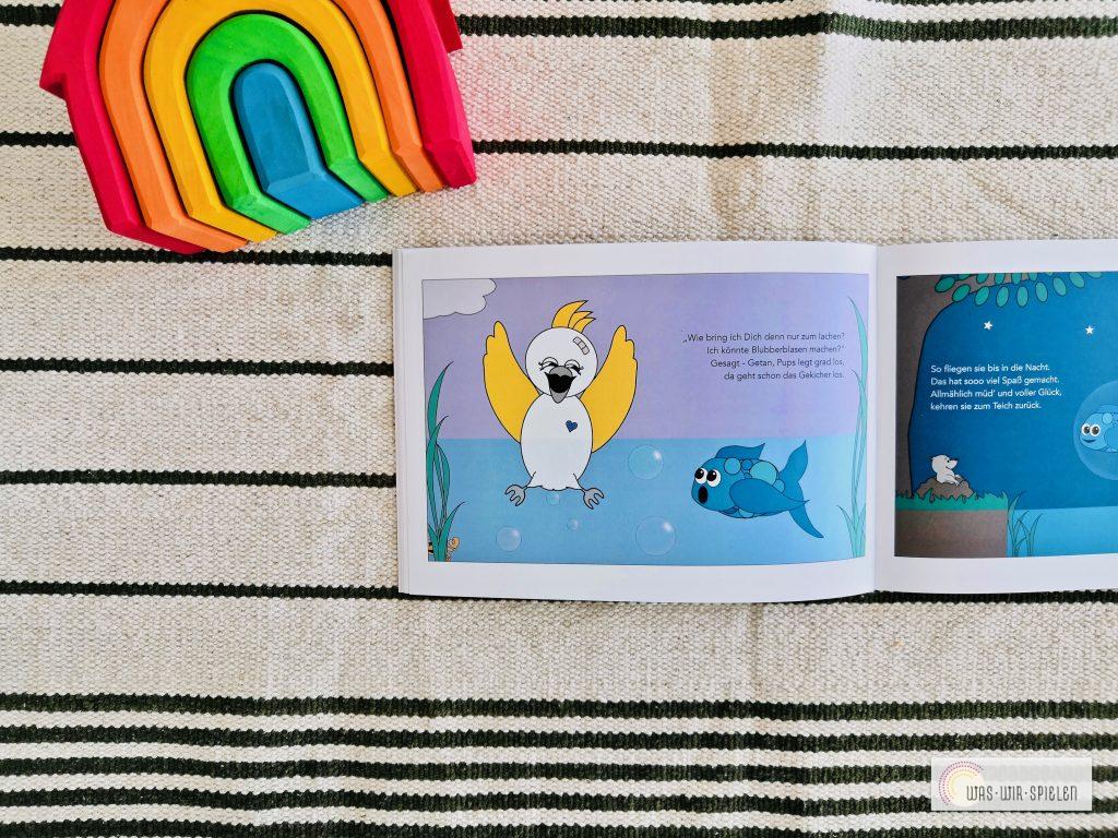 """Ein Blick ins Buch """"Der kleine Kakadu Pups"""""""