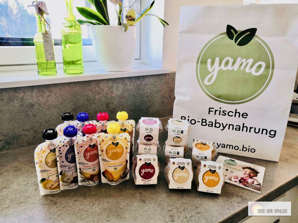 Eine 16er - Box mit Yamo Produkten