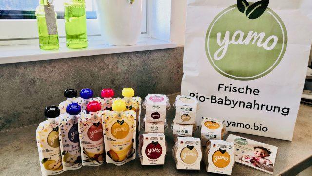 Yamo Bio – frische  Babynahrung & Kindersnacks