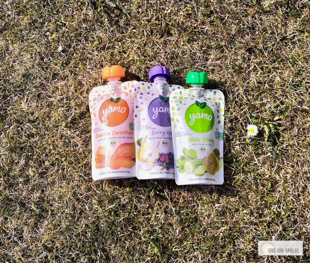 Yamo Quetschies - Obst und Gemüse im perfekten Verhältnis