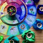 Das Material mit seinen zwölf Farben
