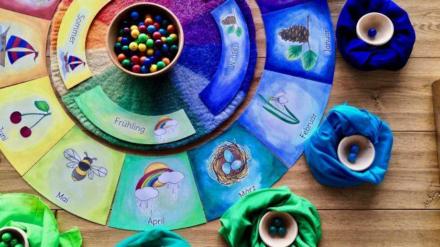 Kreative Ideen mit dem Farbenkreis – Material