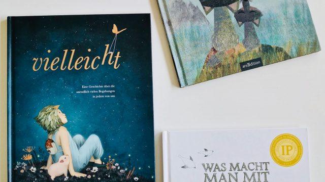 Drei Kinderbücher mit  besondere Botschaft