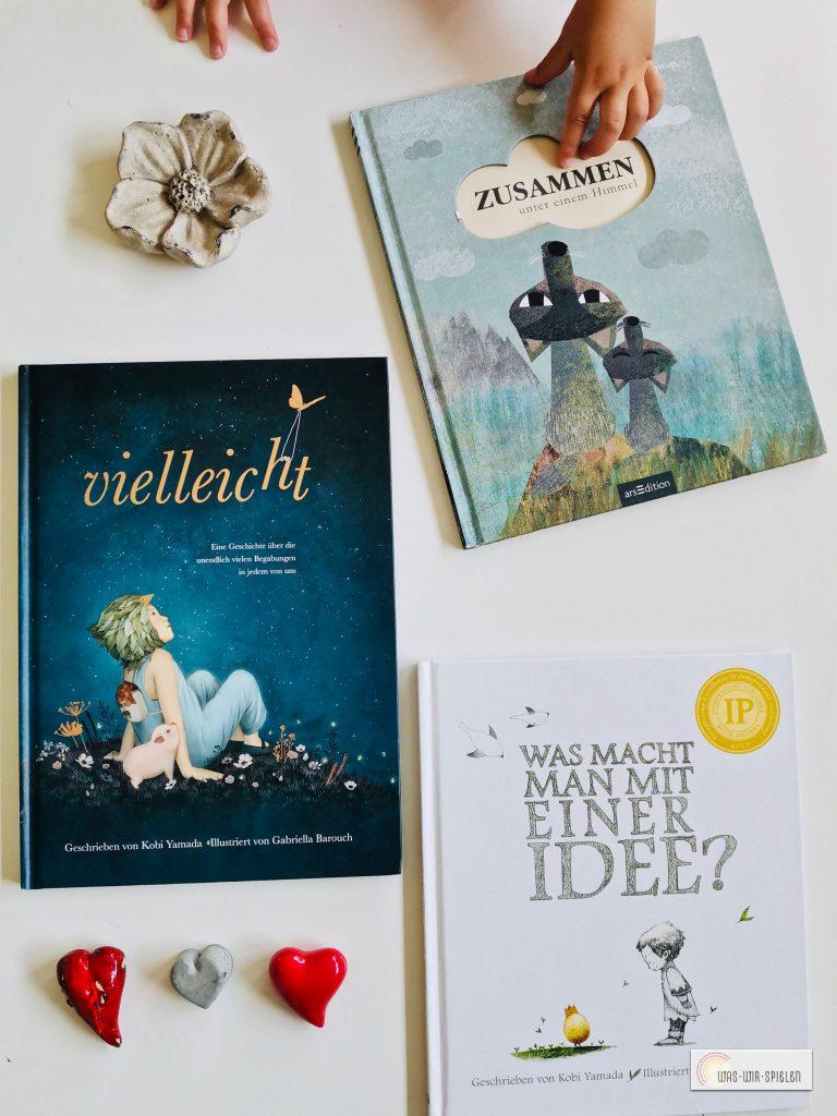 Drei wunderschöne Kinderbücher, die Werte vermitteln