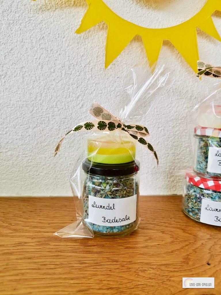 Unsere Geschenke - Lavendel Badesalz und Seifen