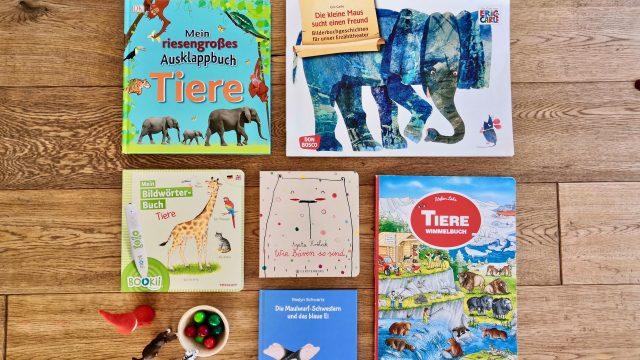 Sechs spannende Bücher über Tiere