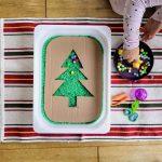 sensorisches Spielidee rund um Weihnachten
