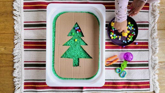 3 weihnachtliche Spielideen – Christbaumspiele