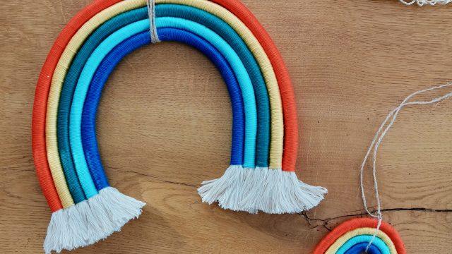 Bunt & einzigartig – DIY Makramee fürs Kinderzimmer