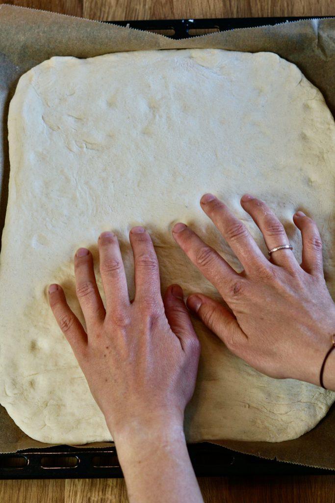 Teig kneten und formen