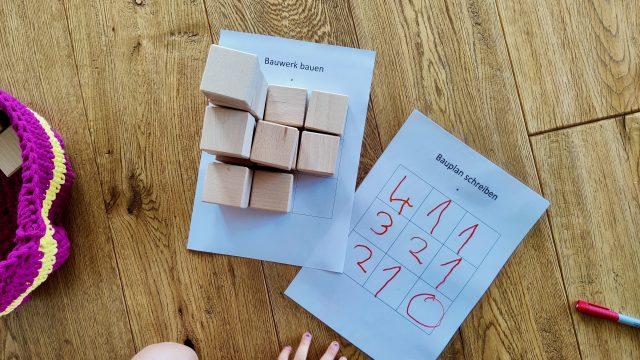 Baupläne bauen – Kinder entdecken Mathematik