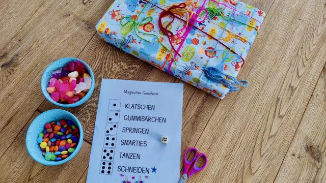 Einfache Einhornparty zum vierten Geburtstag