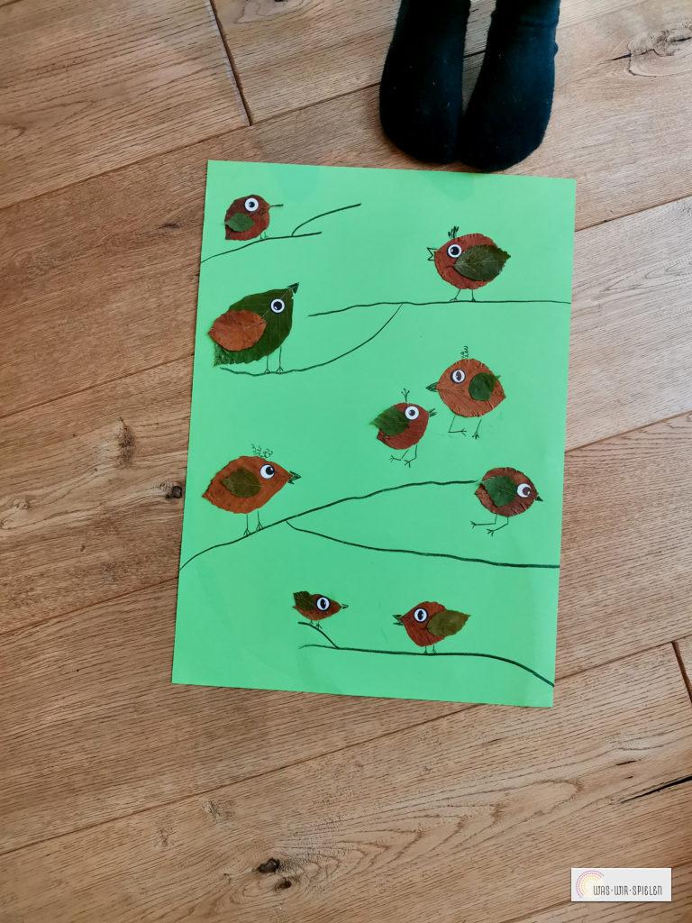 Blättervögel