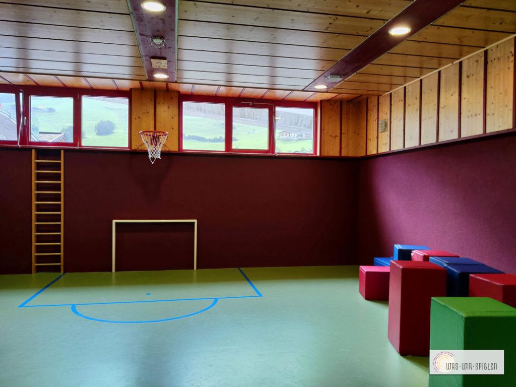 Die Ball - und Bewegungshalle