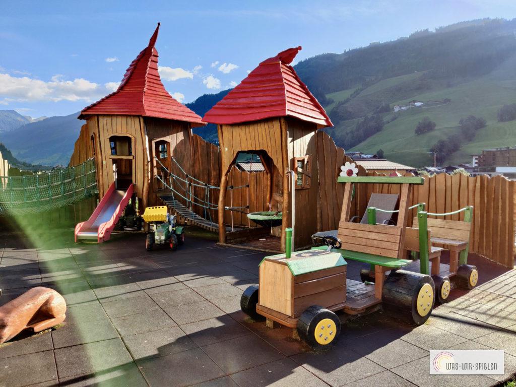 Spielplatz auf der Terrasse