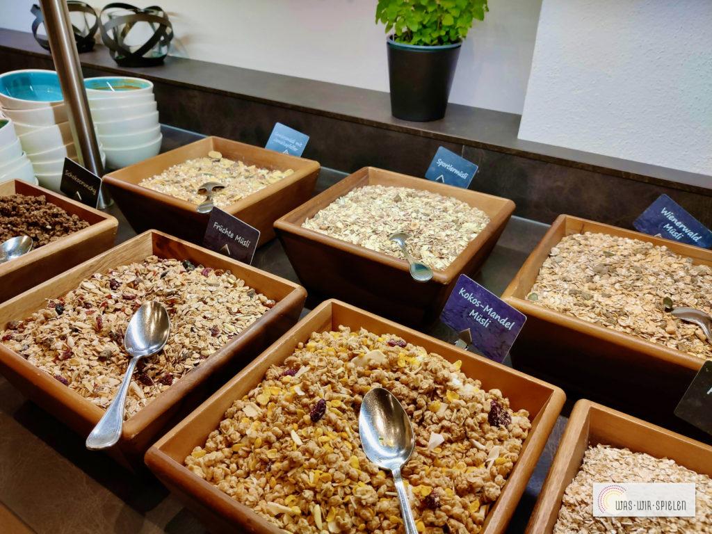 Auswahl an Cerealien