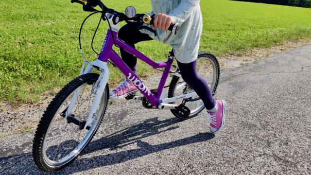 Mit dem WOOM Bike Kinderfahrrad on tour