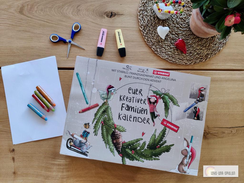 Der kreative Familienkalender von STABILO