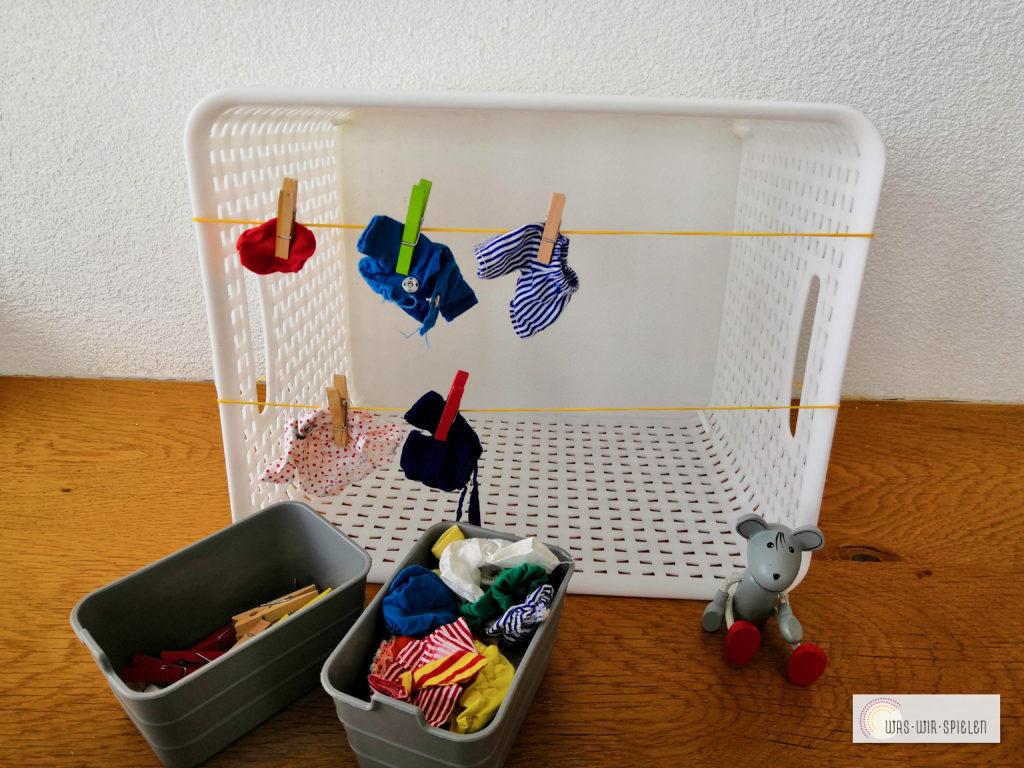 Wäsche aufhängen mal anders